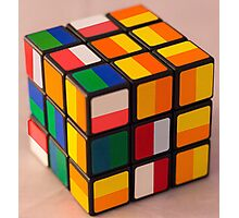 Cube puzzle Photographic Print