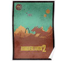 Borderlands 2 Vault Hunters Vs The Warrior Poster Poster