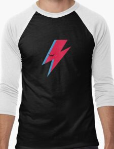 Aladdin Sane Lightning Bolt Men's Baseball ¾ T-Shirt