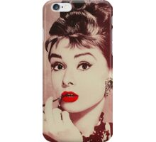 Audrey Hepburn, Breakfast at Tiffany's  iPhone Case/Skin