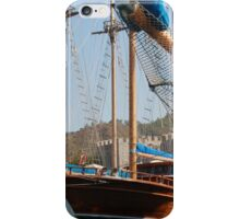 Gulets Lining The Harbour Infront of Marmaris Castle iPhone Case/Skin