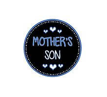 mother's son Photographic Print