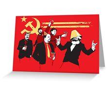 Communism Greeting Card