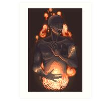 A Fire Inside Art Print