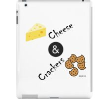 Cheese and Crackers iPad Case/Skin
