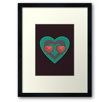 HEART 2 HEART Framed Print