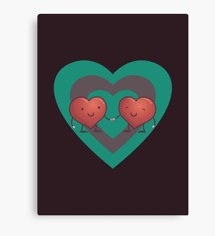 HEART 2 HEART Canvas Print
