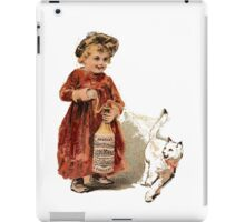 Bad Kitty - Funny Vintage Style Fashion iPad Case/Skin