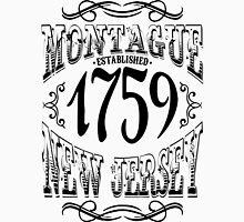 Montague New Jersey Men's Baseball ¾ T-Shirt