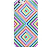 Varicolored squares, lines iPhone Case/Skin