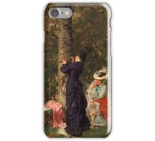 HUGO SALMSON, SOMETHING IN THE AIR. iPhone Case/Skin
