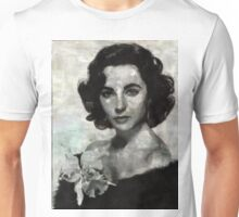 Elizabeth Taylor by Mary Bassett Unisex T-Shirt