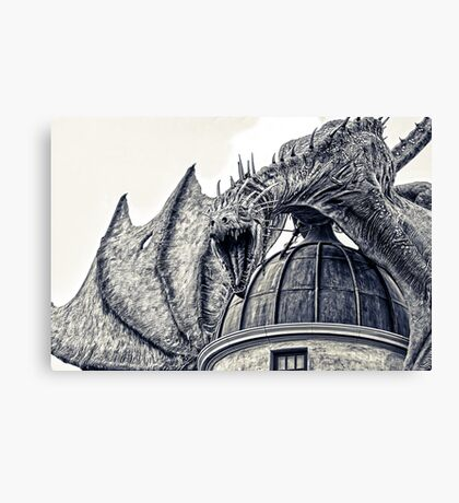 Hungarian Horntail Dragon Canvas Print
