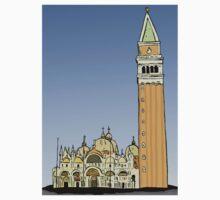 Saint Mark Basilica,Venice Kids Tee