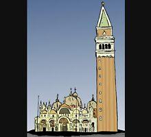 Saint Mark Basilica,Venice Unisex T-Shirt