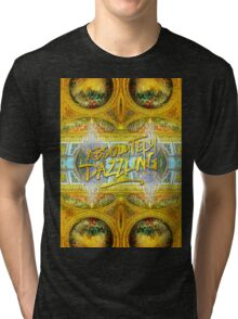 Absolutely Dazzling Hall of Mirrors Versailles Palace Paris Tri-blend T-Shirt