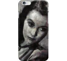 Vivien Leigh by Mary Bassett iPhone Case/Skin