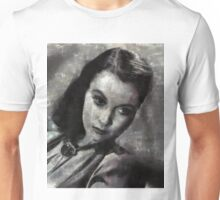 Vivien Leigh by Mary Bassett Unisex T-Shirt