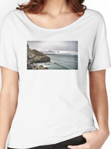 I sat by the ocean Women's Relaxed Fit T-Shirt