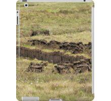 Peat Cutting iPad Case/Skin