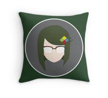 Minor Genius Throw Pillow