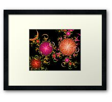 Small Poppies Framed Print