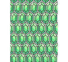 Legend Of Zelda Rupee Design [Green] Photographic Print