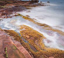 Arran rock shelves by Christopher Cullen