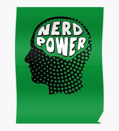 Nerd Power Poster