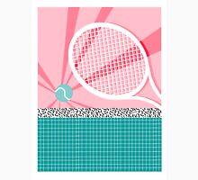 Boo Ya - slam dunk full court tennis racquet action sports athlete game on pop art neon  Classic T-Shirt