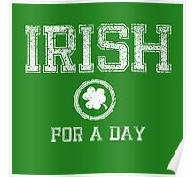Irish for a Day Poster
