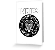 Indies Greeting Card