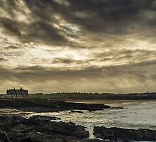 Storm clouds over Fistral by edgeofthemap