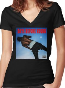 Days Before Rodeo Women's Fitted V-Neck T-Shirt