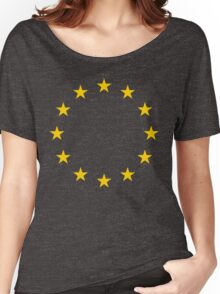 Europhile - Tee Print Women's Relaxed Fit T-Shirt