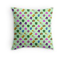 The Breakfast Selection - Fortuitous Charms Throw Pillow