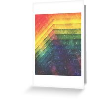 Time & Space Greeting Card