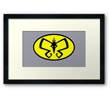 Monarch to the Rescue? Framed Print