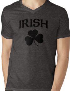 Cute Irish Shamrock St Patrick's Day Mens V-Neck T-Shirt