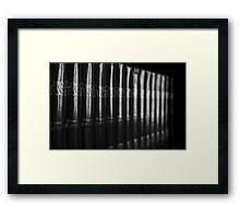 Random Framed Print