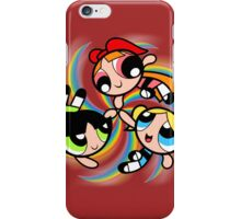 Power Puff Girls in Action iPhone Case/Skin
