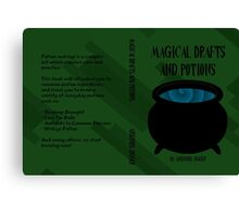 Magical Drafts and Potions Canvas Print