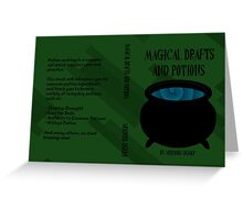 Magical Drafts and Potions Greeting Card