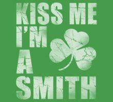 Irish Kiss Me I'm A Smith One Piece - Short Sleeve