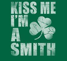 Irish Kiss Me I'm A Smith Unisex T-Shirt