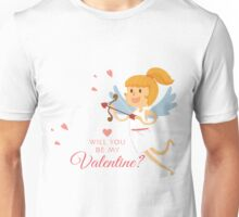 Will you be my Valentine ? Unisex T-Shirt