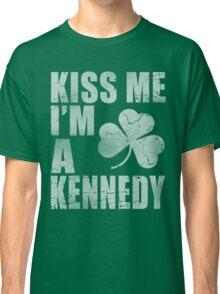 Irish Kiss Me I'm A Kennedy Classic T-Shirt