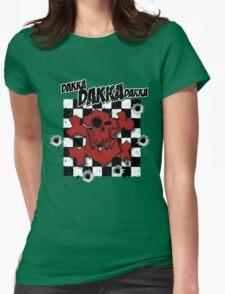 Ork Skull Dakka Womens Fitted T-Shirt