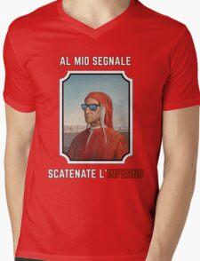 Cool Dante Mens V-Neck T-Shirt