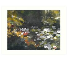 Pond 3 Art Print